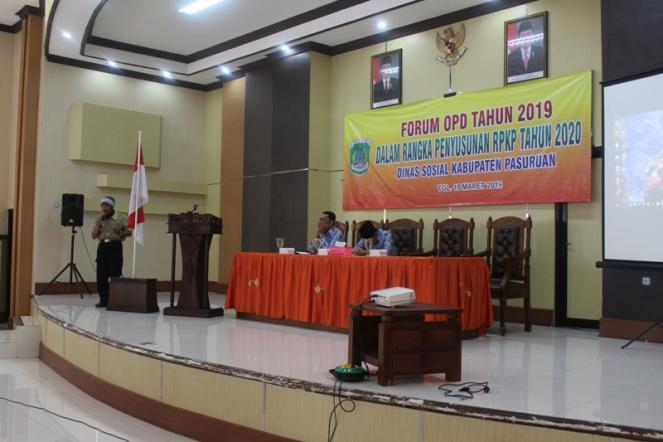 Forum OPD Dinas Sosial Th. 2020